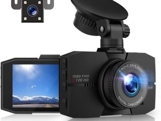 Campark Dual Dash Cam Front and Rear 3 Inches FHD