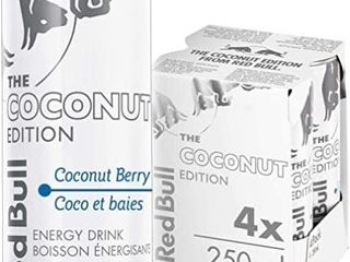Red Bull Energy Drink  Coconut Berry  250ml  4