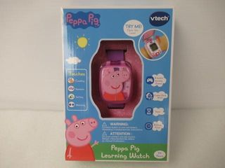 As Is   Factory Sealed  VTech Peppa Pig learning
