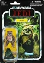 Star Wars The Vintage Collection Wicket Toy  3 75