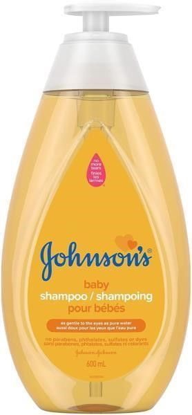 Johnson s Baby shampoo  paraben and tear free and