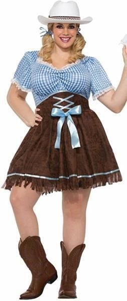 Forum Women s Plus Size Cowgirl Costume