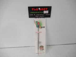 Two Hoot Stainless Steel  Wax Master  Dab Tool