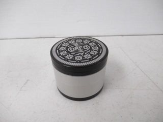 Herb Grinder With Crystal Catcher   Scraper  Oreo