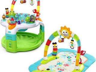 Bright Starts 2 in 1 laugh   lights Activity Gym