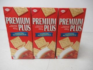 3   As Is  Christie Premium Plus Unsalted Top