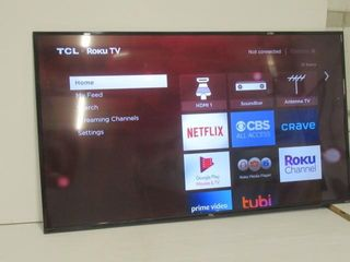 As Is  TCl 65S425 CA 4K Ultra HD Smart lED
