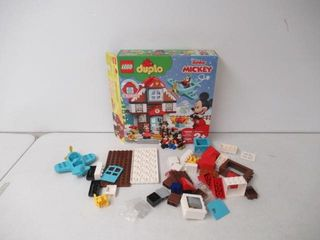 As Is  lEGO DUPlO Disney MickeyIJs Vacation House