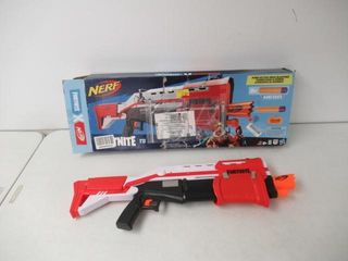 As Is  Nerf Fortnite TS Blaster   Pump Action