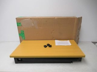As Is  Portable Folding Table Small Computer Desk