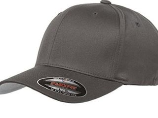Flexfit Men s Athletic Baseball Fitted Cap  Gray