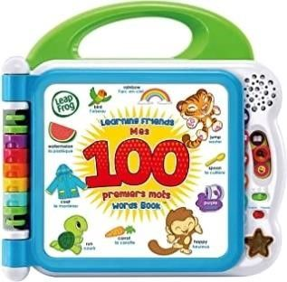 leapFrog learning Friends 100 Words Book