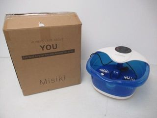 Used  Foot Spa Misiki Foot Bath Massager with