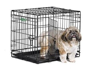 Smal Dog Crate Midwest iCrate 24  Double Door