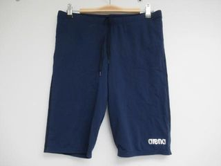 Arena Men s 40 Board Jammer Swimsuit  Navy Silver