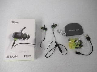 As Is  Optoma NuForce BE Sport4 Premium Wireless
