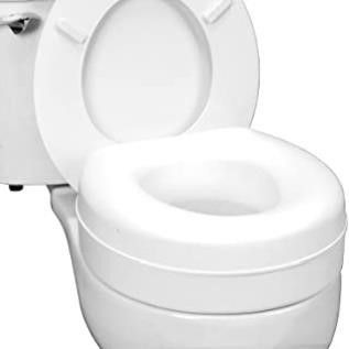 Healthsmart Portable Elevated Toilet Seat Riser