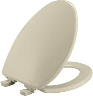 BEMIS 7300SlEC 006 Toilet Seat Will Slow Close and