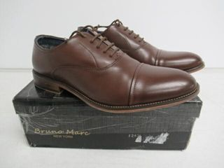 Used  Bruno Marc Men s 9 5 M US lace Up Soft