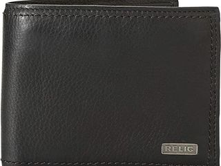 Relic by Fossil Men s Mark leather Traveler Bifold