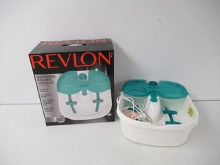 Used  Revlon Soothing Massage Foot Spa