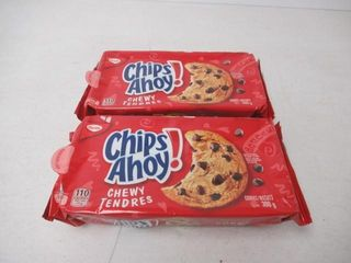 2   As Is  Christie Chips Ahoy Chewy Cookies
