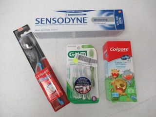 lot of Assorted Oral Care Products