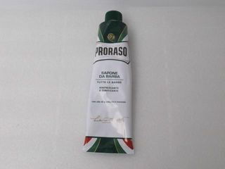 Used  Proraso Shave Cream Eucalyptus and Menthol