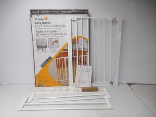 Used  Safety 1st Tall and Wide Easy Install Gate