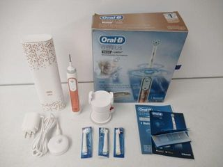 Used  Oral B Genius 9600 Rechargeable Electric