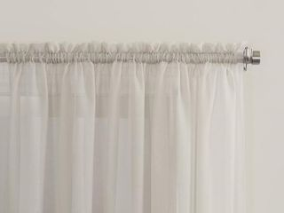 No  918 Emily Sheer Voile Rod Pocket Curtain