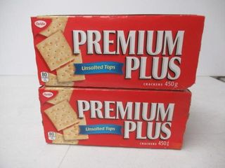 2   As Is  Christie Premium Plus Unsalted Top