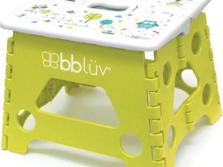 bbluv   Step   Foldable Step Stool   Safe  Compact