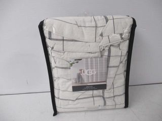 Used  UGGr Gemini Shower Curtain In Charcoal