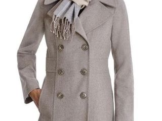 london Fog Women s XS Double Breasted Peacoat with