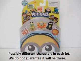 Despicable Me Moose Mineez Series 1  3 Per Pack