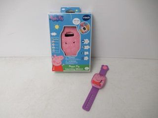 Used  VTech Peppa Pig learning Watch   English