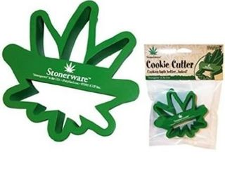 Stonerware Pot leaf Shaped Cookie Cutter