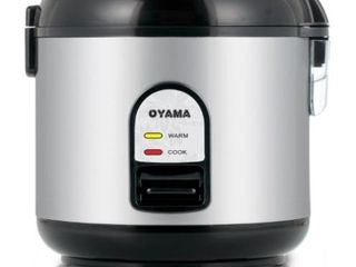 Oyama CFS F10B 5 Cup Rice Cooker  Stainless Black