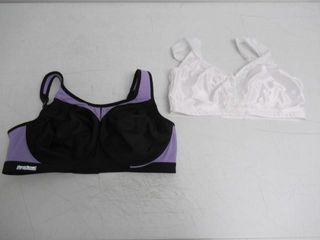 lot Of  2  Just My Size Women s 42D Comfort Strap
