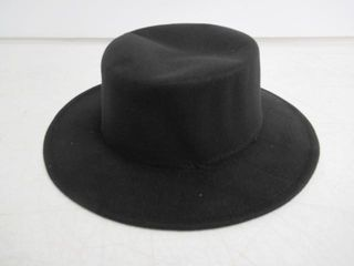 As Is  Classic Unisex Wool Blend Fedora Hat Brim