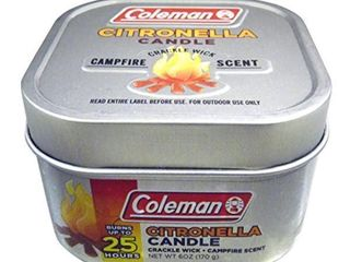 Coleman Campfire Citronella Crackle Candle with