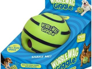 Wobble Wag Giggle Ball  Interactive Dog Toy  Fun