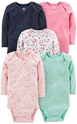 Simple Joys by Carter s Baby Girls  5 Pack