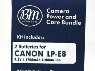 BM Premium Camera and Care Bundle 1 battery for