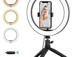 Boaraino Selfie light with Tripod and Cell Phone