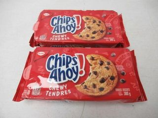 2   As Is  Christie Chips Ahoy Chewy Cookies  300