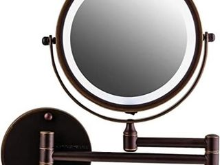 OVENTE Wall Mounted Vanity Makeup Mirror 8 5 Inch