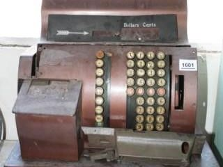 Cash Register Push Button  No Markings