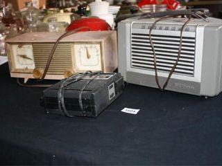 Transistor Radios  3  Zenith  RCA Victor